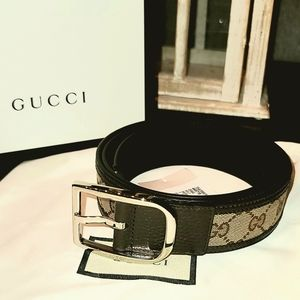 BNIB- GUCCI Mens Belt- 100% Authentic Guaranteed